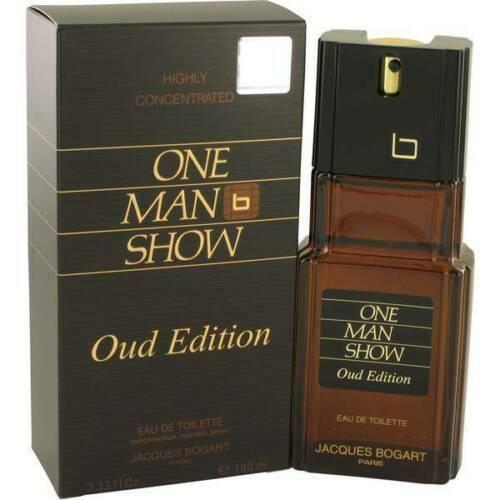 Jacques Bogart One Man Show Oud edición EDT PARA HOMBRE 100ML/3.3 oz envío gratuito.