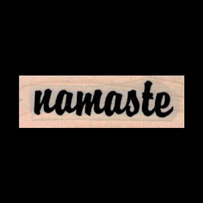 Namaste Rubber Stamp Yoga Series