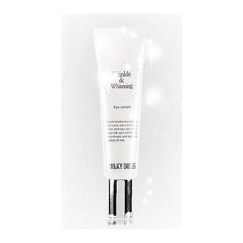 [MilkyDress] Wrinkle & Whitening Eye Cream 10ml Milky Dress