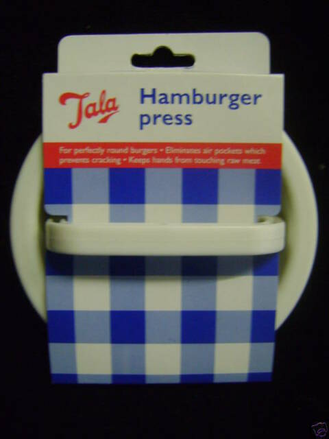 NEW TALA HAMBURGER BURGER PRESS SHAPE MOULD CUTTER