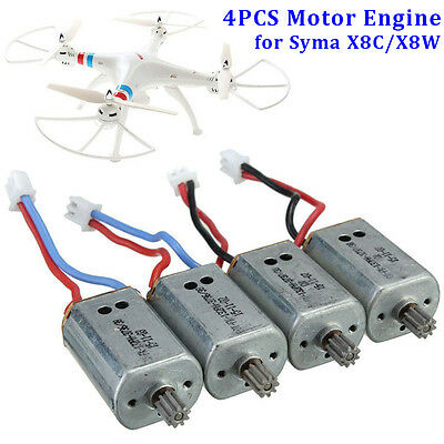 4PCS Motor Cover For Syma X8C//X8W//X8G RC Quadcopter Spare Parts New #4A