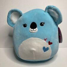 SQUISHMALLOWS 8 Sugar Loaf The Aqua Blue Koala Super Soft Plush