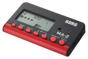 Korg-MA-2-BKRD-Metronom-Orchester-Musiker-Timer-Sound-Modi-Takt-Rhythmus-Display