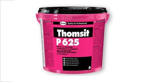 8x Thomsit P 625 Parkett-2-K-PUR Kleber hell 8 kg -für jede Parkettart geeignet-