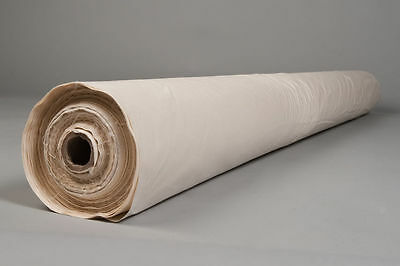 "10 Metres Cambric Cotton Down Proof Fabric White 90/"" Width 233 Threadcount"