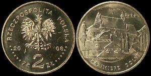 Pologne. 2 Zloty. 2008 (Pièce KM#Y.641 Neuf) Kazimierz Dolny