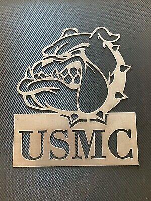 USMC Plasma cut Custom logo