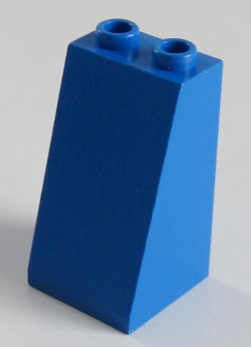 LEGO Dachstein / Slope 75  2 x 2 x 3 2 Stück blau # 3684