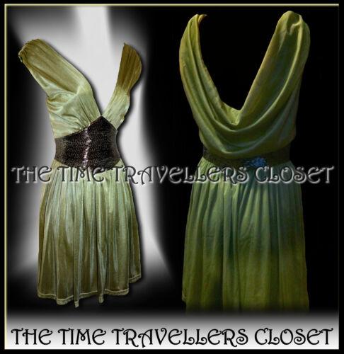 oliva Moss 8 Abito verde Topshop impreziosito Bnwt 10 verde oliva corsetto dal Uk foderato Kate 5qxXOU