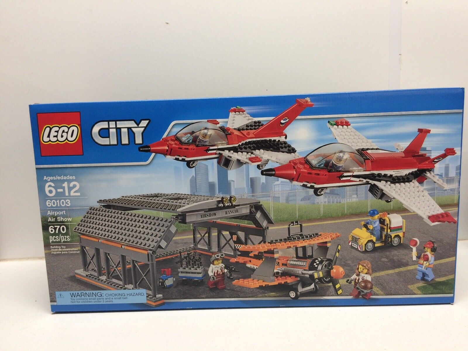 Show Airport Factory New Nisb City 60103 Lego Nib Air u13TlFKJc5