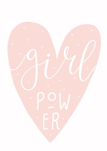 Girl power Nursery Prints for Childrens Nursery Decor no frame