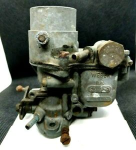 Carburatore-Weber-28-ICP-3-Auto-Epoca-Fiat-600-D-Multipla-Carburetor-Vintage-Car
