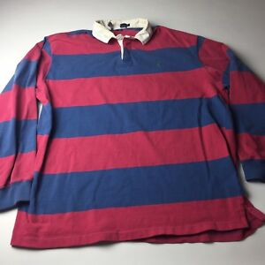1fa2de2a1cb Vintage Polo Ralph Lauren Mens Long Sleeve Polo Shirt Rugby Thick ...