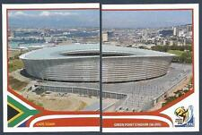 PANINI-SOUTH AFRICA 2010 WORLD CUP- #006-#007-CAPE TOWN-GREEN POINT STADIUM