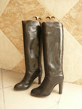 "Bottes Vintage   NEW BOT SHOES  Italie   "" Noir""       T .39,5"