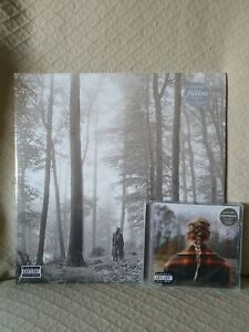 TAYLOR-SWIFT-FOLKLORE-EVERMORE-BUNDLE-2-LP-COLOURED-VINYL-AND-CD-NEW-amp-SEALED