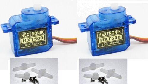 Micro RC Planes Helis orangeRX UK Hextronik HXT500 5g Micro Servo 1 2 4 Packs