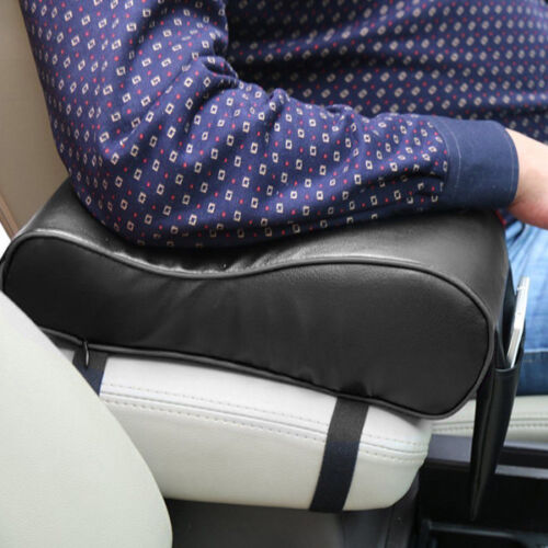 Armrest Pad Car Cushion Mat Covers Interior Parts with Cell Phone Pocket Decent