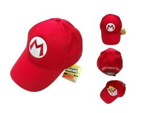 Game-Super-Mario-Bros-Cosplay-Baseball-Cap-Adjustable-Sports-Snapback-Hat-Unisex
