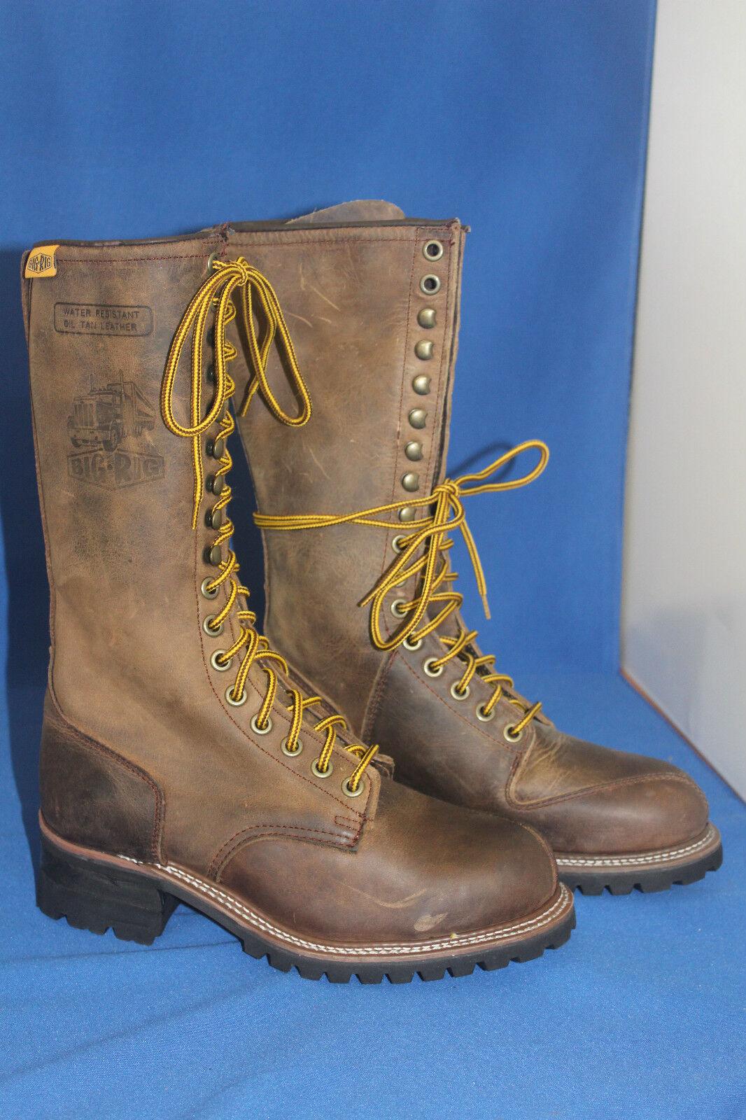 Hando Big Rig Boots registrador worker botas talla. 39 cuero