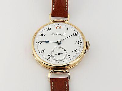 Armbanduhr Henry Moser & Cie in 585/- Roségold für den Russischen Markt !