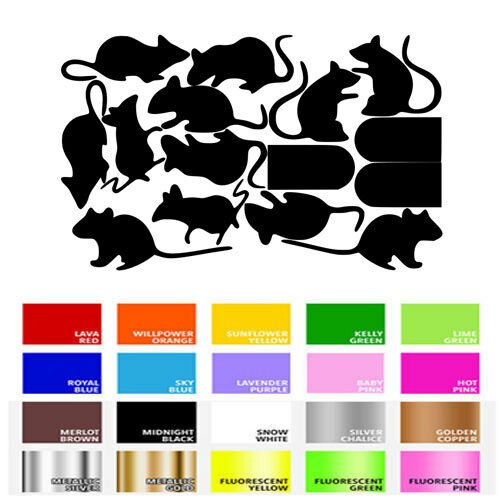 Mouse /& Hole Decal Sticker for Home Door Stair Windows Wall Car Decor Decoration