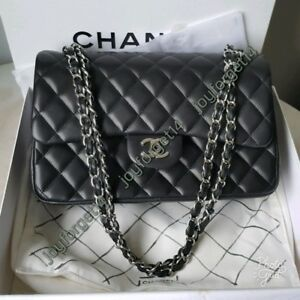 551d0833638d Authentic Brand NEW Chanel Classic Flap Jumbo in Lambskin with SHW ...