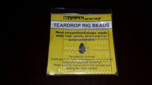 Details about  /BREAKAWAY NEW TEARDROP FISHING SEA TACKLE RIG BEADS