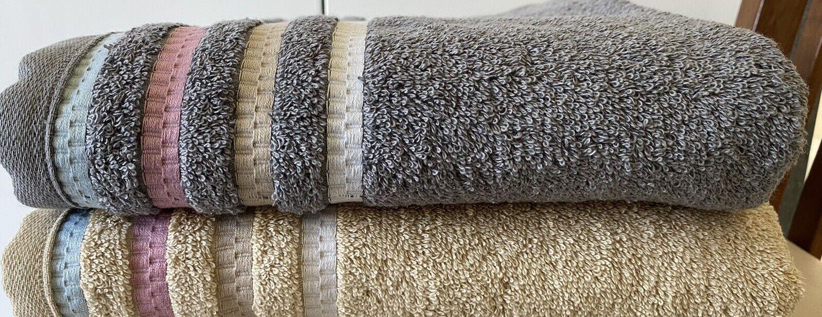 PREMIUM HOTEL QUALITY VOSSEN Bath Towel RRP -SAVE & FREE DELIVERY