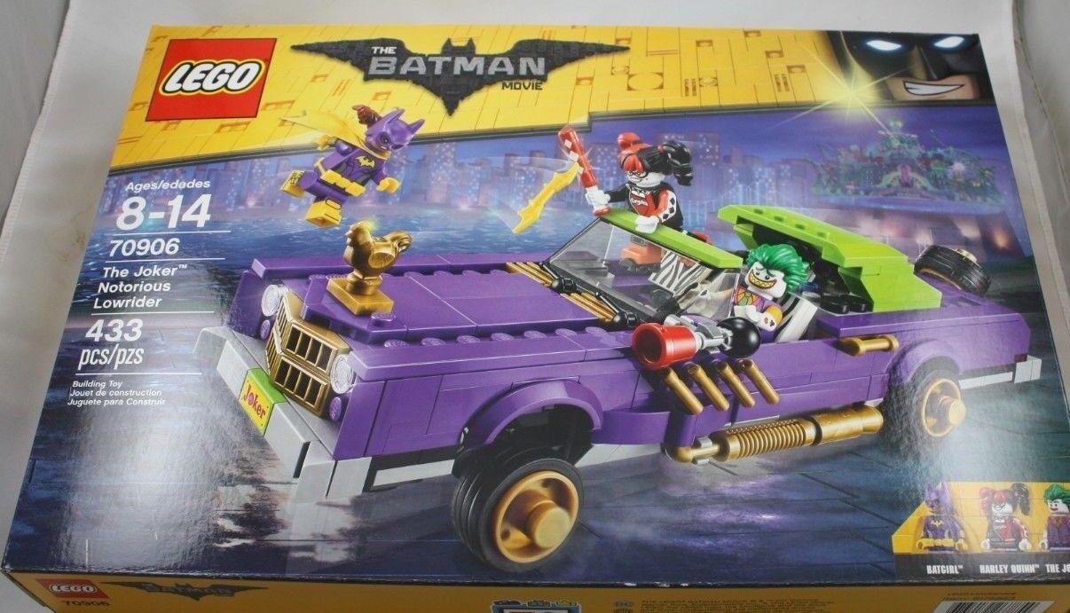 Lego 70906 The Lego Batman Movie The Joker Notorious Niedrigrider New NISB
