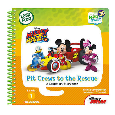 Leapfrog Leapstart Level 1, Mickey And The Roadster Racers Book (3D Enhanced)