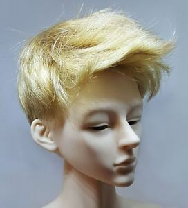 "9-10/"" /""Chris/"" Blond Short Men/'s Style BJD Wig"