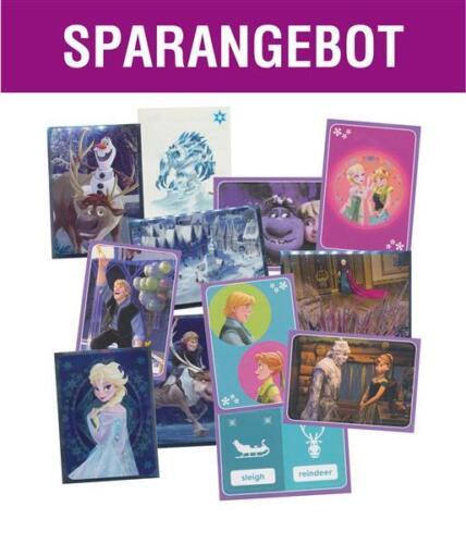 Die Eiskönigin Disney English Panini Serie 4-50 gemischte Sticker