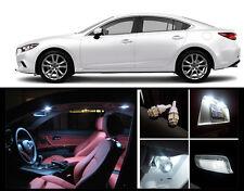 2014 - 2016 Mazda 6 Premium White LED Interior Package (7 Pieces)