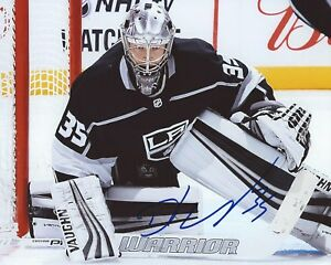 Darcy-Kuemper-Signed-8x10-Photo-Los-Angeles-Kings-Autographed-COA