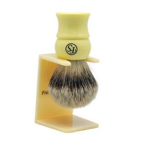 Densidad-Silvertip-Badger-Cabello-Brocha-De-Afeitar-richmond-libre-de-goteo-Stand-By-Frank