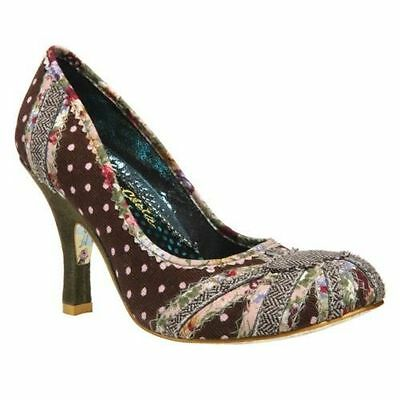IRREGULAR CHOICE PATTY HIGH HEEL STILETTO SHOES