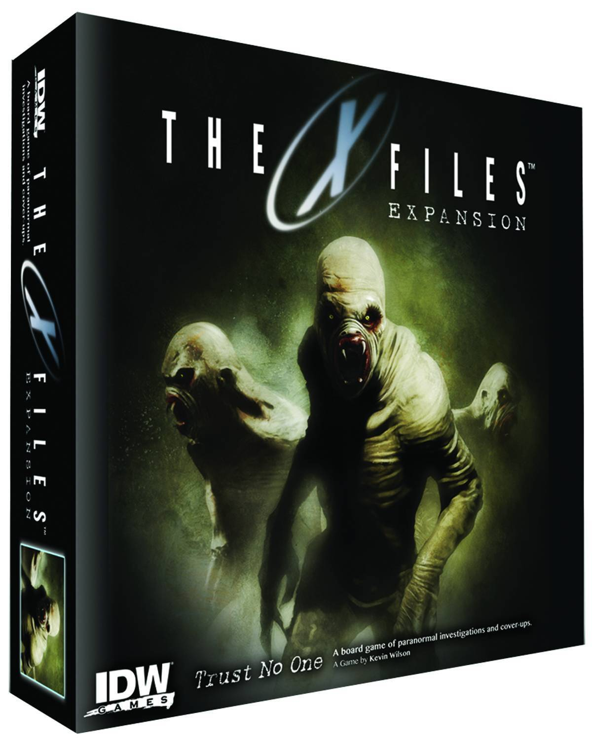The X Files, Trust No One, Expansion Set, New, English by IDW