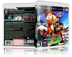 The King Of Fighters Xii Replacement Ps3 Cover And Case No Game