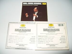 Lorin-Maazel-Ravel-L-039-heure-Espagnole-cd-Thick-Booklet-1965-Ex-Condition