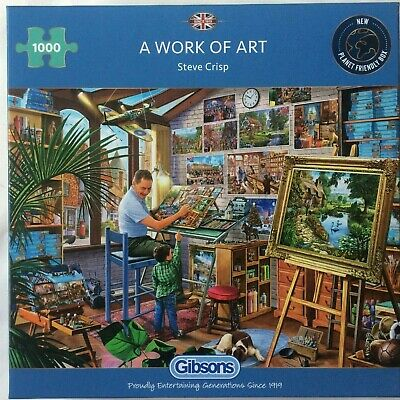 Gibsons A Work Of Art Jigsaw Puzzle