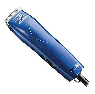 Andis Professional Ceramic Hair Clipper Detachable Blade 21490 MBG-2 MBG2 Blue