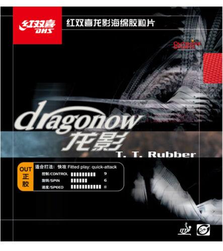 Double Happiness DHS Dragonow Kurze Noppen Tischtennis Belag