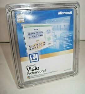 Microsoft-Visio-Professional-2002-Office-Business-Technical-amp-Diagramming-NEW