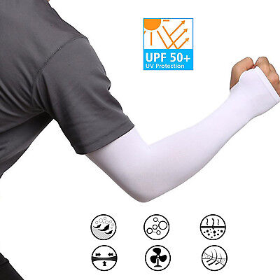 Cooling Arm Sleeves For Men Women Tattoo Cover Up Sleeves To Cover Arms White Ebay