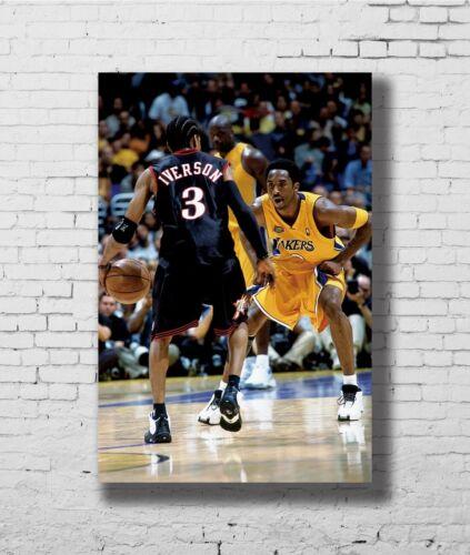 24x36 14x21 40 Poster Allen Iverson AI Basketball Star Art Hot P-2099