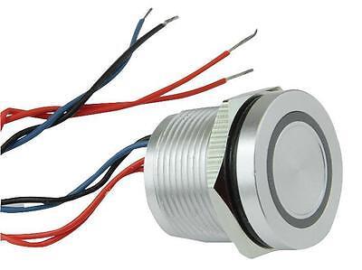 RJS-PZ-A19-0-Z-F-R-3-NO-M-N-B Rjs Electronics Switch A-V Piezo Al 19mm 12V Blue