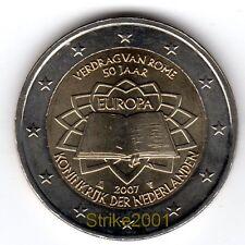 2 EURO COMMEMORATIVO OLANDA 2007 Trattato di Roma