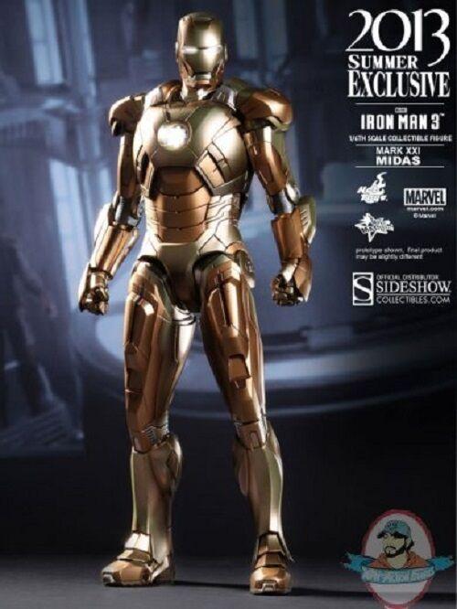 1 6 Scale Iron Man Mark XXI Midas Movie Masterpiece by Hot Toys