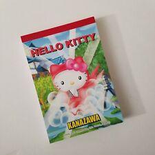 Sanrio Hello Kitty Kanazawa Vintage 2001 Note Pad Office School Supplies Kawaii
